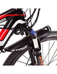 riche Bits Déambulateur gratuit visage Ailes PE Plus léger VTT Fourche avant Pneu arrière Garde-boue type de vélo de montagne BMX Racing Touring pour vélo de route