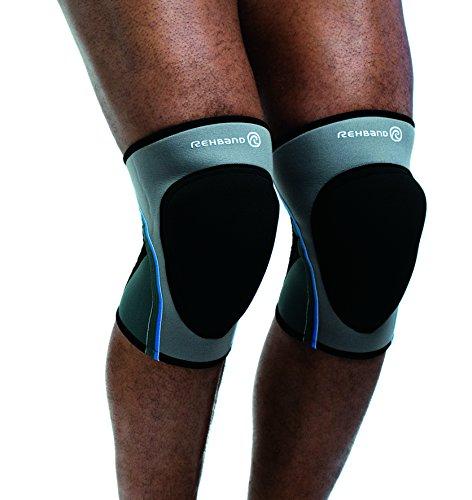 Preisvergleich Produktbild Rehband Bandage Volleyball Kniepad Pro,  grau,  L,  776309-4