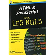 HTML et Javascript Poche Pour les Nuls