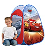 Disney John 72554 Pop Up Spielzelt Cars-Kinderzelt, Wurfzelt, Spielhaus mit gedrucktem Motiv für...