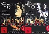 DIE GESCHICHTE DER O. Complete Collection EPISODEN 1 - 10 nach dem Roman von PAULINE REAGE 10 DVD Box Edition