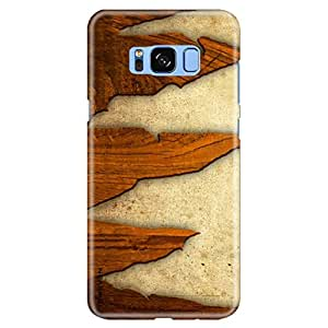 """iSweven Samsung Galaxy S8 Plus printed cover, designer slim fit hard case, light weight """"360 degree"""" protection, matte finish back cover for Samsung S8 Plus (2472 Art)"""