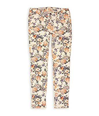 Bullhead Denim Co. Womens Printed Skinniest Skinny Fit Jeans