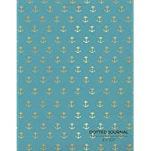 """Dotted Journal 8.5"""" x 11"""": Nautical 