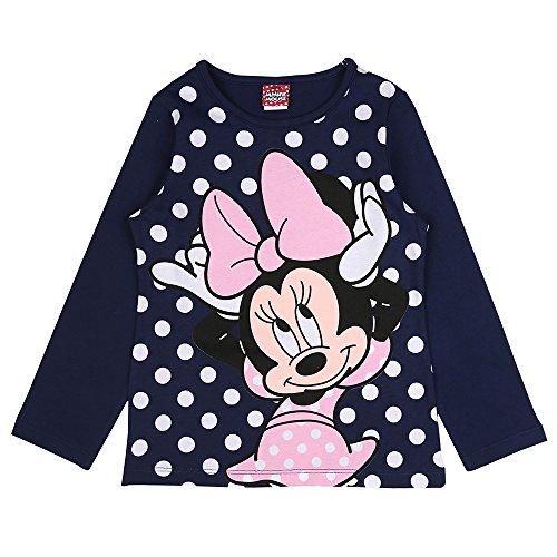 Disney Niñas Minnie Mouse Camiseta, Azul