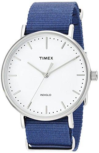 Timex TW2P97700 Weekender Slip-thru Analog Watch For Unisex
