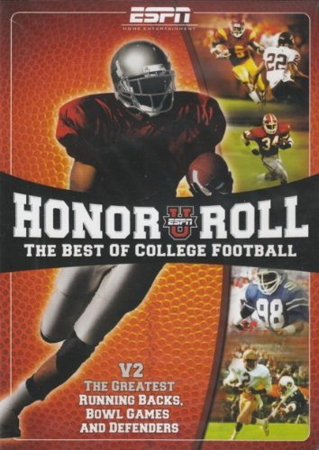 ESPN: Honor Roll - The Best Of College Football V2 by Rece Davis (Espn Football)