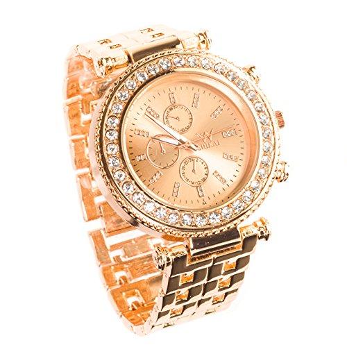 shikai-womens-quartz-analog-stainless-stee-lwrist-watch-rose-gold-band-designer-choice