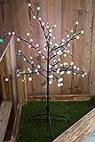 96x LED Leucht Baum Außen Bereich Kugel Deko Steh Leuchte Stand Lampe Globo 39116