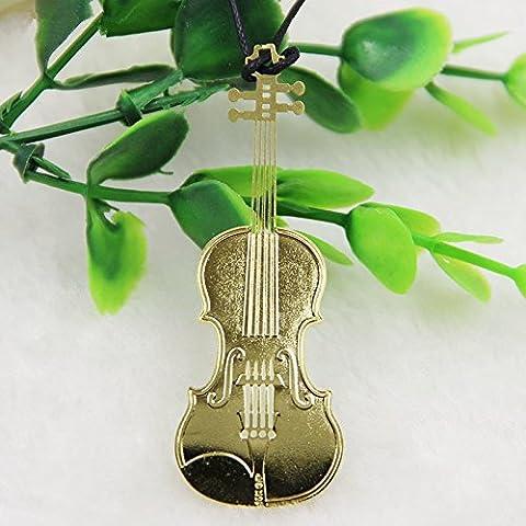 Segnalibro In Materiale Ferro Sottile Tema Musica Strumenti Musicali