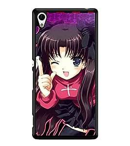 Printvisa 2D Printed Girly Designer back case cover for Sony Xperia Z4 - D4157