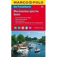 MARCO POLO Freizeitkarte Mecklenburgische Seen 1:100.000