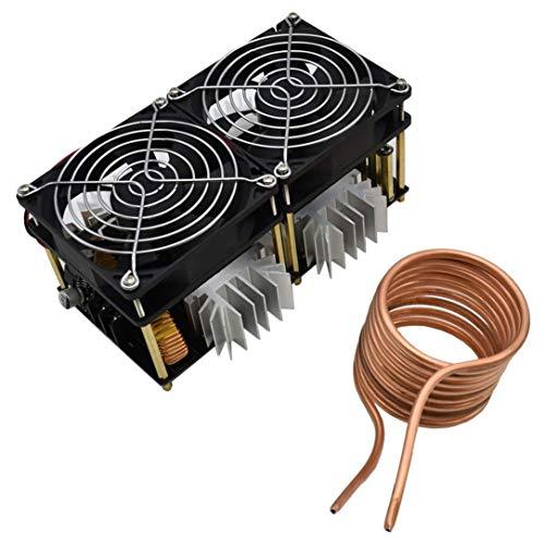 1800W ZVS Induction Heating Board Module Flyback Driver Heater + Tesla Coil + Fan -