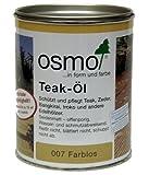 OSMO Teak-Öl farblos 0,75L