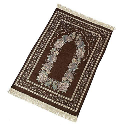 EZIZB Gebetsteppich Gebetsdecke Vintage Nationale Art Anbetungs Decke für Das Gebet Im Islam Qualitativ Verpackt - Islam-teppich