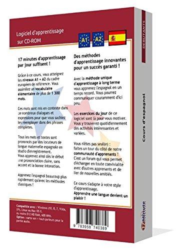 Cours d'espagnol pour débutants (A1/A2). Logiciel pour Windows/Linux/Mac OS X. Apprendre les bases de l'espagnol