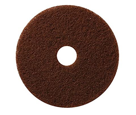 Americo Manufacturing 400221 Standard Brown Floor Stripping Pads (5 Pack),