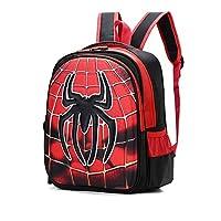 MKYYLV School Bag,Kid Backpack Superhero Children Backpack Adjustable Kindergarten Book Bags Primary School Boy Girls Book Backpack,35cm