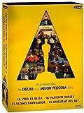 Pack 4 Mejores Películas Oscar: El Discurso Del Rey + El Paciente Inglés + El Último Emperador + La Vida Es Bella [DVD]
