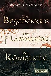 Die sieben Königreiche – Gesamtausgabe (Die Beschenkte/Die Flammende/Die Königliche) (Die sieben Königreiche ) (German Edition)