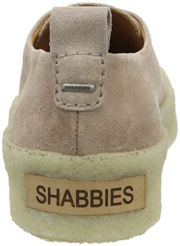 Shabbies Amsterdam Shabbies Schnürer, Scarpe Stringate Derby Donna Pink (Soft Rose)