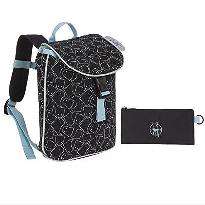 LSSIG-Kinderrucksack-mit-Brustgurt-Kindergartenrucksack-Kinder-TascheMini-Duffle-Backpack-Spooky