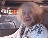 CHRISTOPHER LLOYD as Dr. Emmett Brown - Back To The Future GENUINE AUTOGRAPH - Male Movie Star Autographs - amazon.co.uk