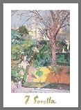 Joaquin Sorolla Poster Kunstdruck Bild Die Gärten von