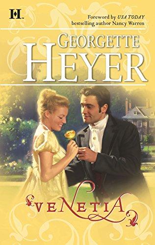 Book cover for Venetia