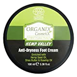 BIO HEMP VALLEY NEW Foot Cream Anti-Trockenheits 100% BIO-Öl Hanf zertifiziert ECOCERT - 100ml