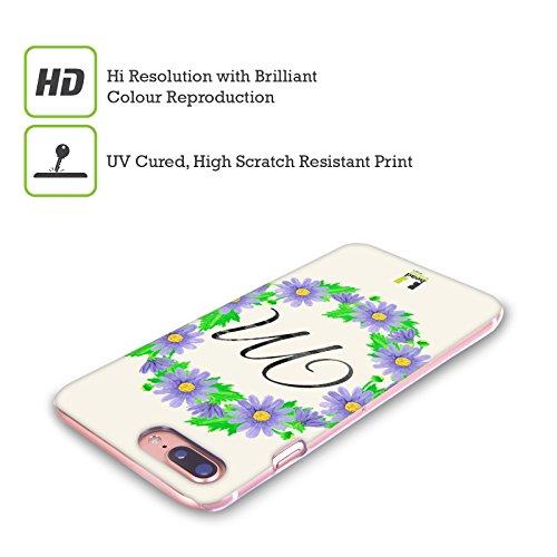 Head Case Designs J Plumerias Corona Di Fiori Cover Retro Rigida per Apple iPhone X M Margherite