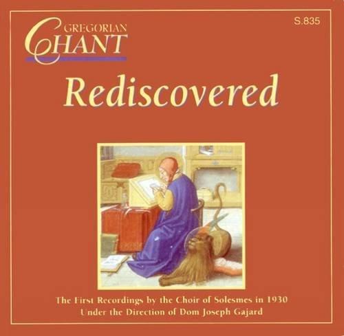 Gregorian Chant Rediscover D
