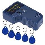 KKmoon Handheld-125KHz RFID-Ausweis Schriftsteller/Kopierer Duplikator + 5pcs beschreibbaren EM4305 Key-Cards