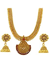 BFC- Buy For Change New Fancy Design Wedding Necklace Set / Jewellery Set For Women And Girls