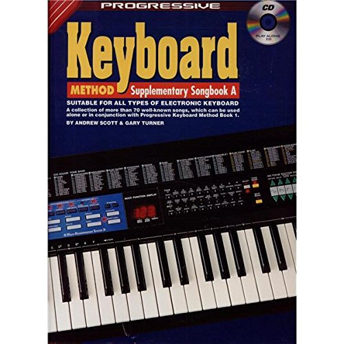 Progressive: Electronic Keyboard Method - Supplementary Songbook A (Book/CD). Partitions, CD pour Clavier par  LTP Koala Publications