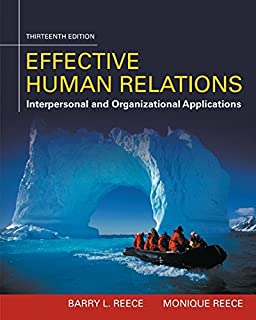 Effective Human Relations: Interpersonal and Organizational Applications (1305576160) | Amazon price tracker / tracking, Amazon price history charts, Amazon price watches, Amazon price drop alerts