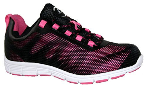 Groundwork Gr95, Chaussures de Sécurité Mixte Adulte multicouleur - Blk/Pink