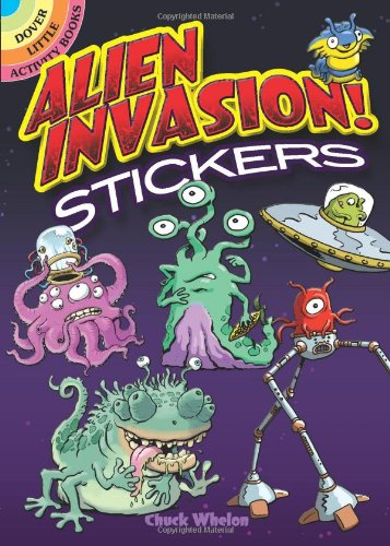 Alien Invasion! Stickers (Dover Little Activity Books Stickers)