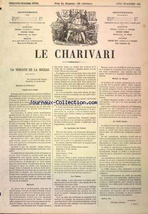 CHARIVARI (LE) du 20/10/1884
