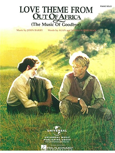 John Barry: Love Theme (Out Of Africa). Partitions pour Piano