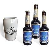 Arschlecken- Set Bierkrug Arschlecken 350& 3 Biere Arschlecken 350 - 0,33l, 5,2%vol Alc