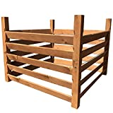 "Holz Kompostsilo\""BIO\"" - Komposter mit Zuganker"