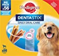 Pedigree Dentastix Daily Oral Care Dental Chews, Large Dog 56 Sticks, Pack of 1