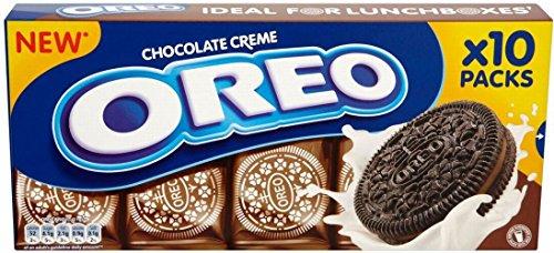 Oreo Biscotti - Crema Al Cioccolato (10 Per Confezione - 220g) (Confezione da 6)