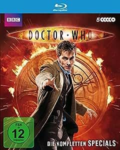 Doctor Who - Die kompletten Specials (4 Blu-rays, (Blu-ray)