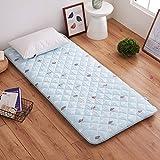 ZY&DD Gepolsterte matratze,Bett matratze,Komfort Weich Sponge pad,Student Schlafsaal Tatami Matratze,Schlafen pad-E 90x200cm(35x79inch)