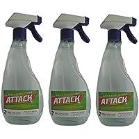 Attack Spray Top Muschio, Patio, terrazze di muffa, alghe e batteri Attack Remover percorsi passi Walkways Forza Industriale prodotto nel Regno Unito.