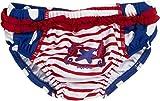 Playshoes Baby - Mädchen Schwimmwindel Badewindel Badehose Seepferdchen UV - Schutz nach Standard 801, Gr. 62 (Herstellergröße: 62/68), Mehrfarbig (original 900)