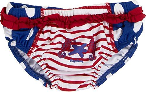 Playshoes Baby - Mädchen Schwimmwindel Badewindel Badehose Seepferdchen UV - Schutz nach Standard 801, Gr. 74 (Herstellergröße: 74/80), Mehrfarbig (original 900)