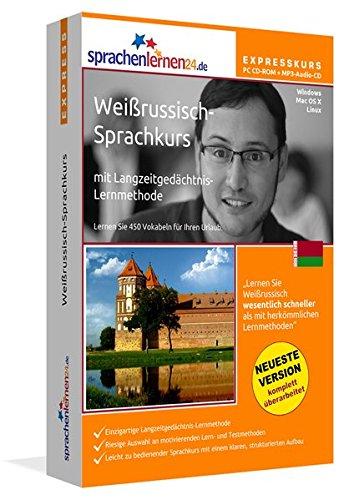 Sprachenlernen24.de Weißrussisch-Express-Sprachkurs CD-ROM für Windows/Linux/Mac OS X + MP3-Audio-CD für Computer/MP3-Player/MP3-fähigen CD-Player (Livre en allemand) par Udo Gollub